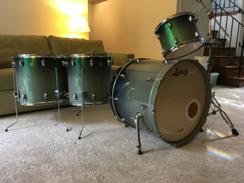Ludwig Legacy Classic Emerald Fade Sparkle Drums