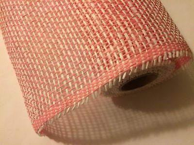 Paper Mesh Rolls (WOVEN PAPER MESH ROLL PINK 21