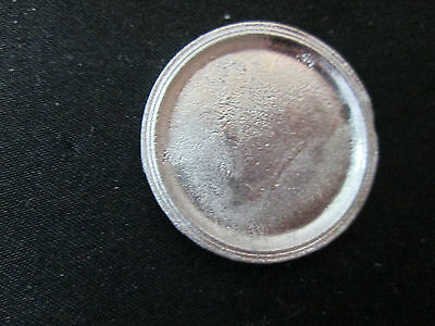 Dollhouse Miniature Unfinished metal Pizza Pan