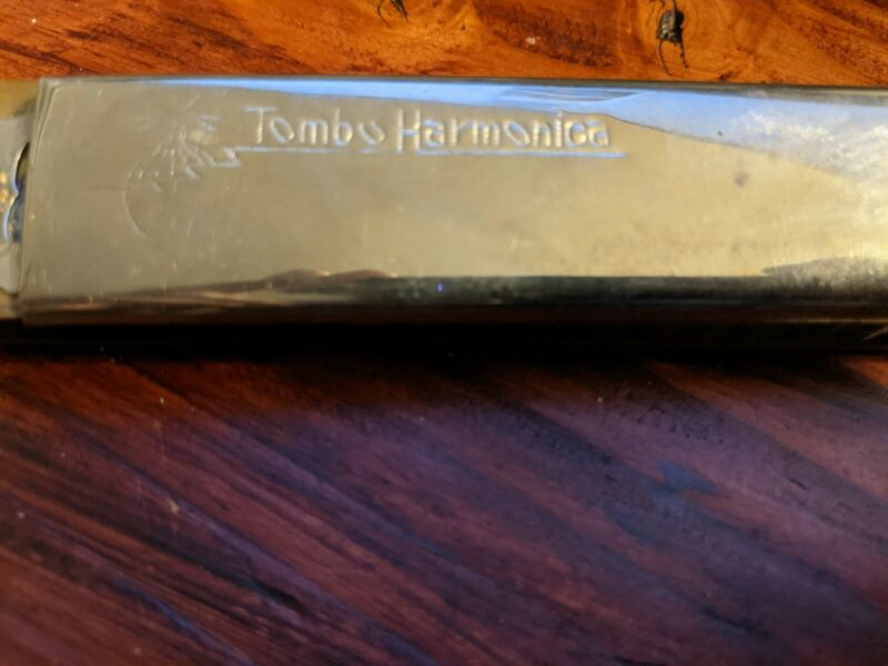 Vintage Tombo Band 24 Hole Harmonica