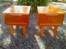 *FuNkY* Pair of Danish Style Teak Retro Bedsides or Side Tables! Aldgate Adelaide Hills Preview