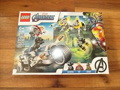 LEGO Avengers 76142 Black Panther & Thor Speeder Bike Attack NEW