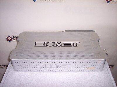 Biomet 592031 Ringloc Acetabular Shell Gauges Bone Screw Surgical Instrumentcase