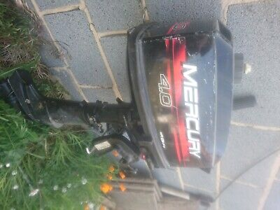 Mercury 4 HP 2 Stroke Outboard Engine Motor short Shaft.