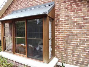 Cedar Framed Bay Window Bundanoon Bowral Area Preview