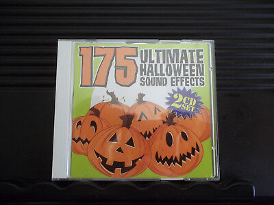 Creepy Halloween Sound Effects (175 ULTIMATE HALLOWEEN SOUND EFFECTS 2 CD SET Wow creepy fun)