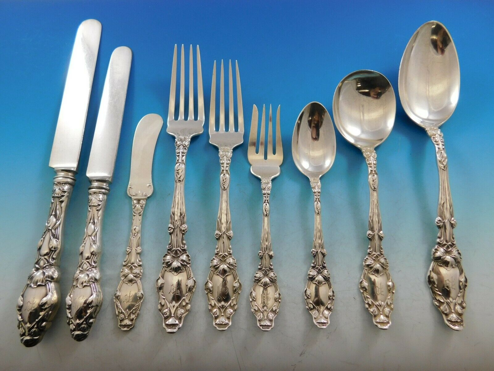 Virginiana By Gorham Sterling Silver Place Soup Spoon 7 14