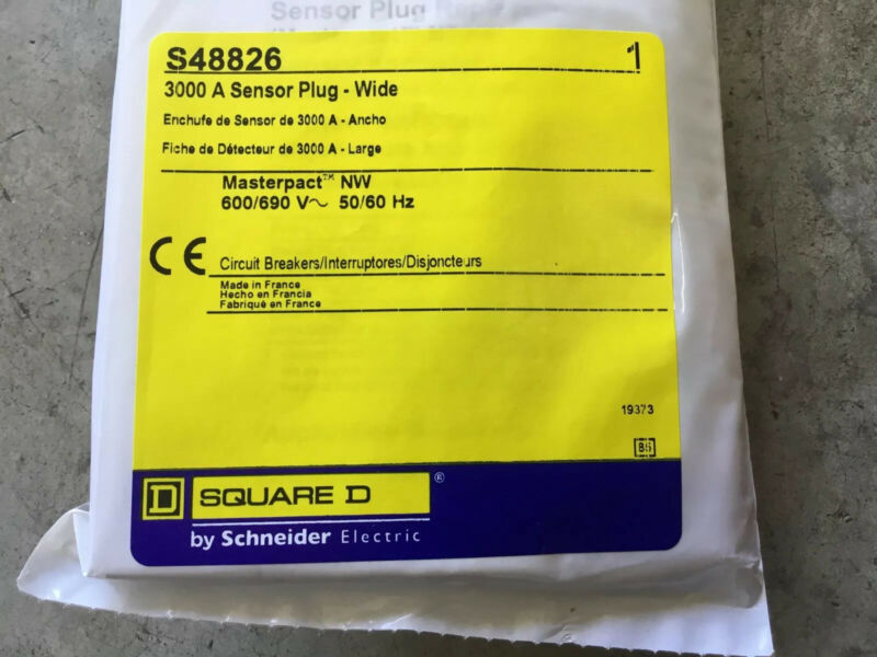 Square D 3000A sensor plug - Wide, S48826