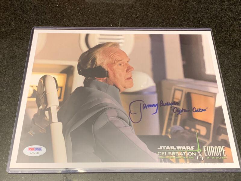 Jeremy Bulloch Autographed Signed Star Wars 8x10 Photo Boba Fett Psa/dna