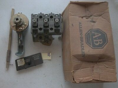 New In Box Allen Bradley Disconnect Switch 3 Pole 60a 1494r-n60 Series A 313