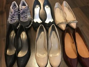 7 pairs of shoes for sale...moving sale