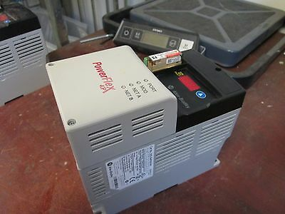 Allen-bradley Powerflex 40p Ac Drive 22d-d4p0n104 2.0hp 3ph Out 0-460v 4a Used