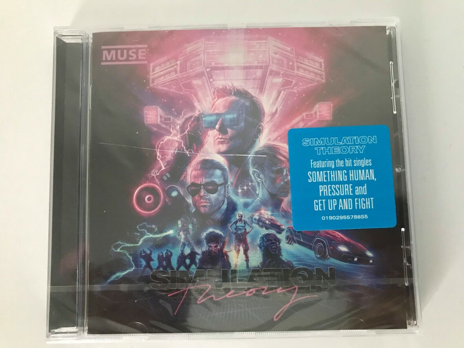 muse - simulation theory (album cd neuf sous blister)
