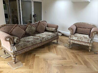 Luxury Class 3+1 Italian Furniture Sofa Set