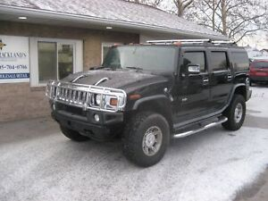 2006 Hummer H2 AWD 4X4 LEATHER SAFE
