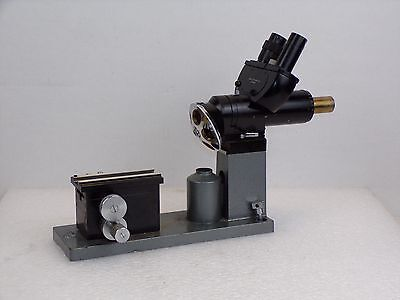 Ernst Leitz Panphot Wetlar No. 555468 Main Body 5 Objective Camera Microscope