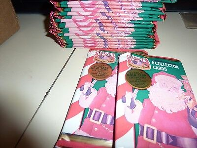 Santa trading card's 20 pack's plus BONUS!!