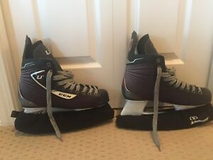 CCM 03 Custom Hockey Skates and Hockey Stick