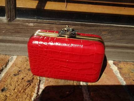 HOUSE OF HARLOW CLUTCH BAG 1960 RED Canterbury Canterbury Area Preview