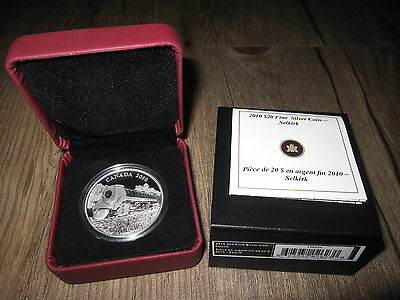 Click now to see the BUY IT NOW Price! 2010 CANADA $20 1 OZ .9999 SILVER STEAM LOCOMOTIVE SELKIRK TRAIN COIN OGP W COA