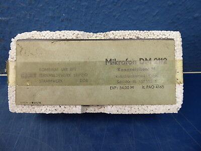 """RFT  """"  MIKROFON  TYP DM2112  """". NEU. OVP."""