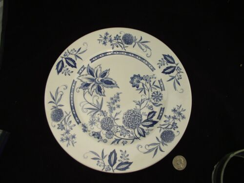 BARKER BROTHERS CATHAY BLUE DINNER PLATE