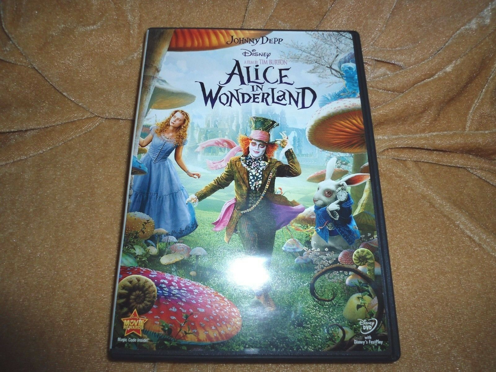 Alice In Wonderland 2010 1 Disc DVD  - $9.99