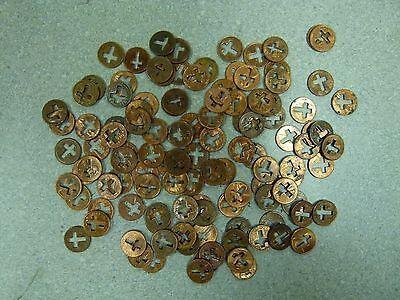 50 Cut Out Cross Pennies