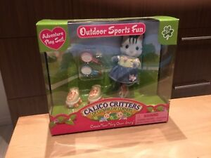 New! Calico Critters Outdoor Sports Fun/Neuf! Sports extérieurs