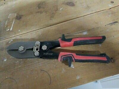 Gino Development 02-0105 Truepower 5-blade Hand Crimper Hvac Ductwork Tool...