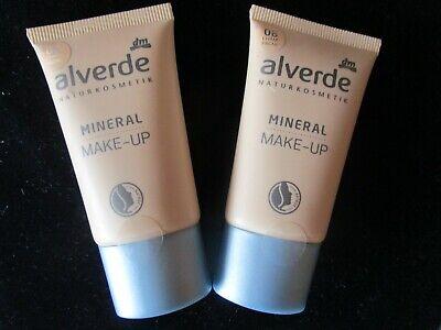Alverde Mineral make up Champagne, je 30 ml, original neu, Testsieger, 2 Stück