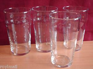 Nonic pint glasses set of 4