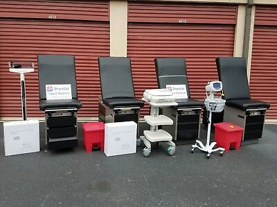 Matching Renewed Exam Tables- Availability Varies - Premier Used Medical