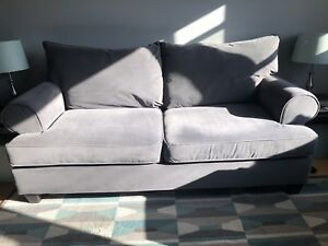 Grey Sofa and Loveseat (Paige - The Brick)