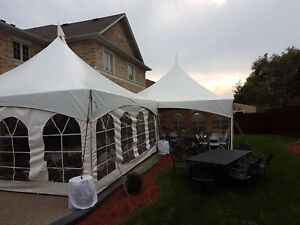 Tents, tables, chairs, linens and more!