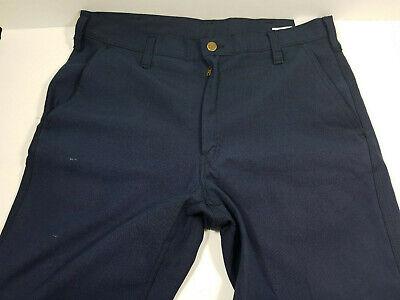 Workrite Blue Fire Resistant Nomex Pants 400nx75nb 34 X 34 X 32