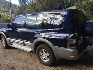 2002 Mitsubishi Pajero Wagon diesel South Hobart Hobart City Preview