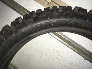 Dirtbike tires, came off a Cr250