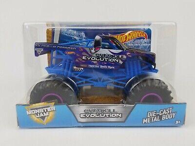 Hot Wheels Monster Jam Overkill Evolution Die-Cast Vehicle 1:24 Scale