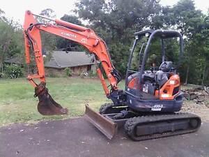 Kubota 3.5T Excavator Richmond Hill Lismore Area Preview