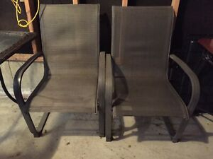 SOLD Deck/Patio Chairs