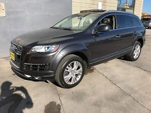 2015 Audi Q7 3.0L TDI Progressive, Navi, Leather, AWD, Diesel,