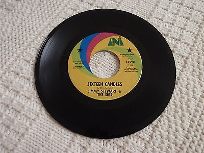 Jimmy Stewart   The Sirs  Sixteen Candles Same Promo Uni 55090
