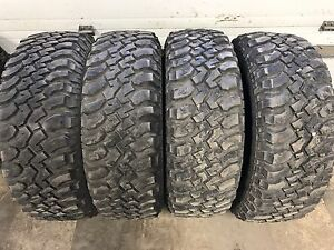 Set of four BfGoodrich km mud tires