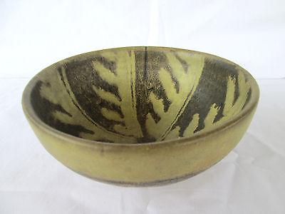 Vintage Japanese Redware Bowl Unique Design!