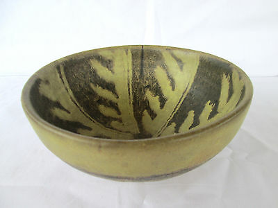 Vintage Japanese Redware Bowl Unique Design!