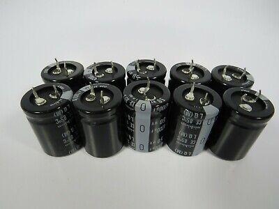 10 New Nos Nichicon Capacitors 4700uf 50v Llq1h472mhsa