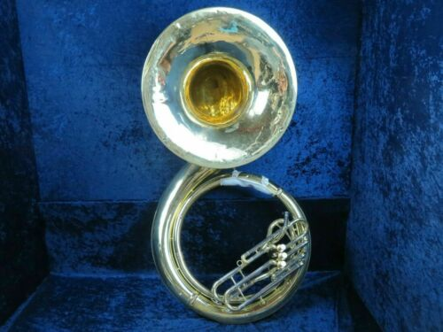Yamaha YSH-411 BBb Lacquered Sousaphone Ser#102924 Sounds Great & Looks Great!