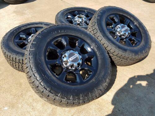 "20"" Ford F-250 F-350 Black Oem Rims Wheels Tires 3844 2014 2015 2016 2017 2018"