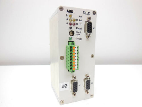 ABB redundancy link modules RLM01 P3bdz000398R1